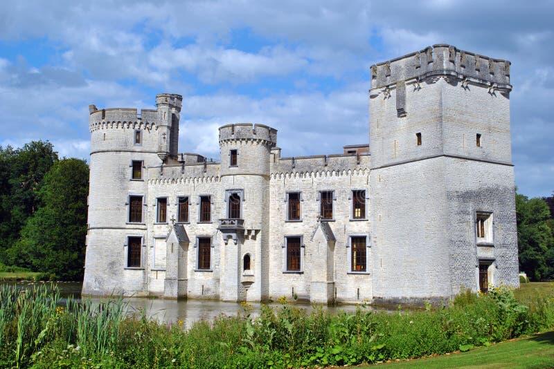 Boechout (Bouchout) castle stock photography