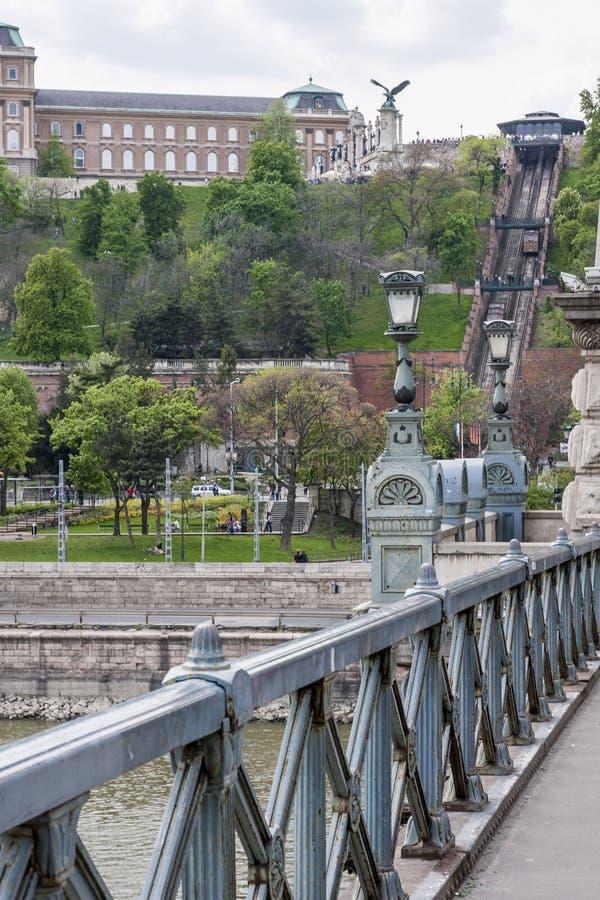 Boedapest, één van de mooiste Europese stad royalty-vrije stock foto