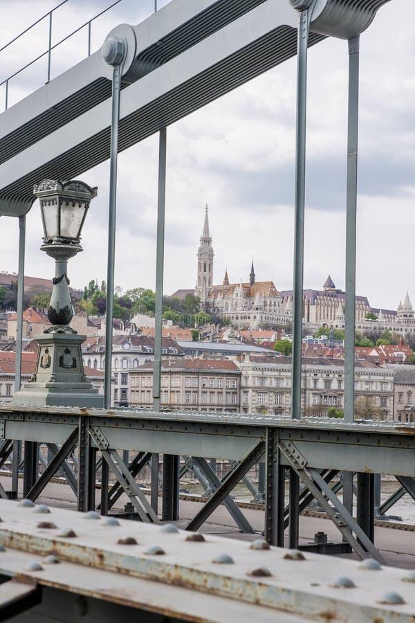 Boedapest, één van de mooiste Europese stad stock foto