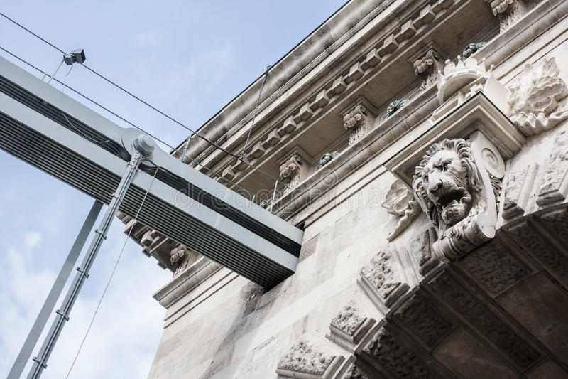 Boedapest, één van de mooiste Europese stad royalty-vrije stock fotografie