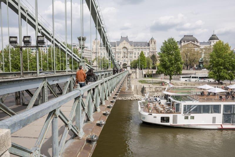 Boedapest, één van de mooiste Europese stad royalty-vrije stock afbeeldingen