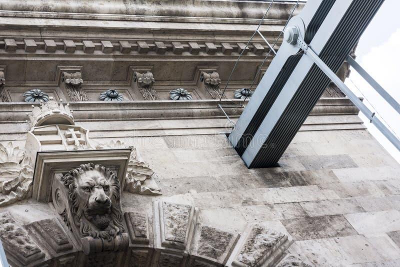 Boedapest, één van de mooiste Europese stad stock fotografie