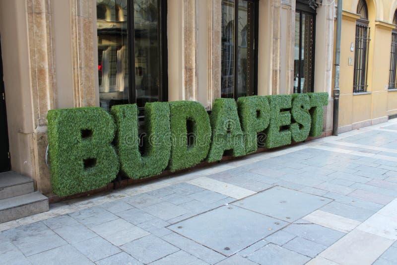Boedapest stock fotografie