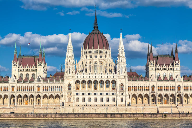 Boedapest, Hongarije stock fotografie