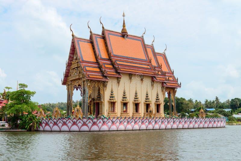 Boeddhismetempel op Samui-Eiland, Thailand stock afbeelding