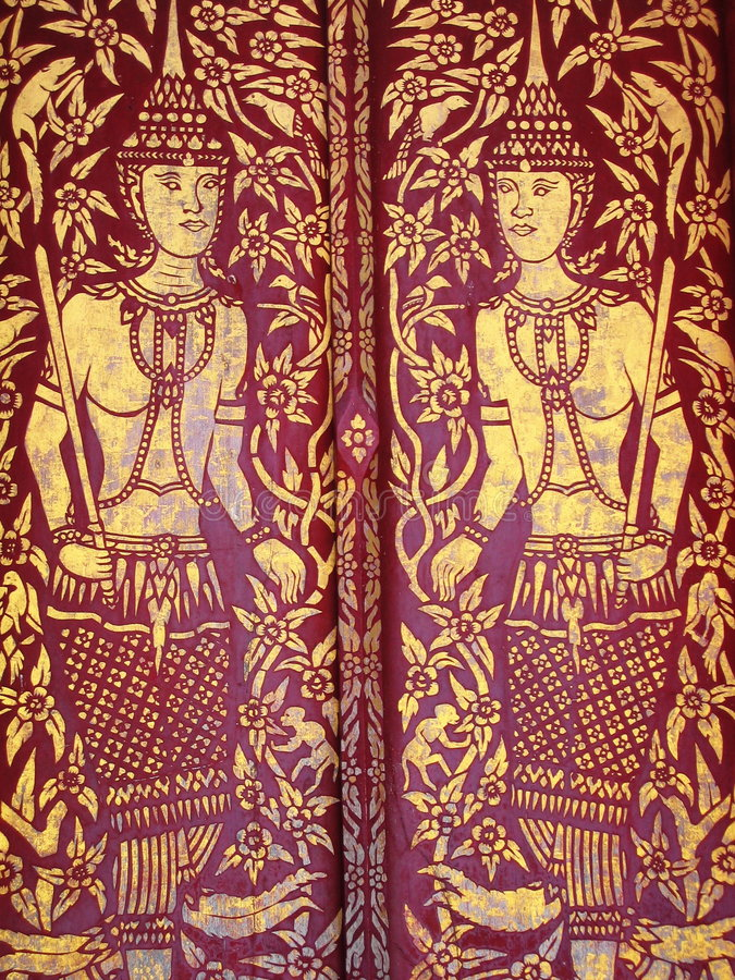 Boeddhistisch art. royalty-vrije stock afbeeldingen