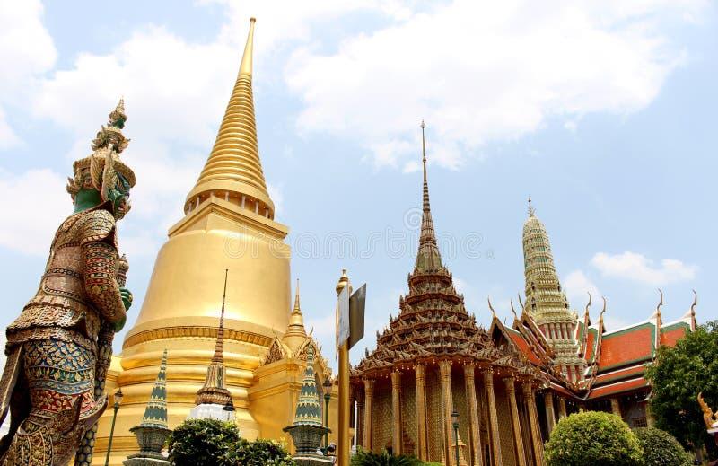 Boeddhistisch in Bangkok royalty-vrije stock fotografie