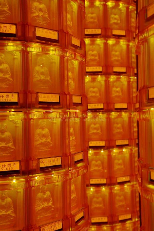 Boeddhistisch het bidden wiel royalty-vrije stock foto