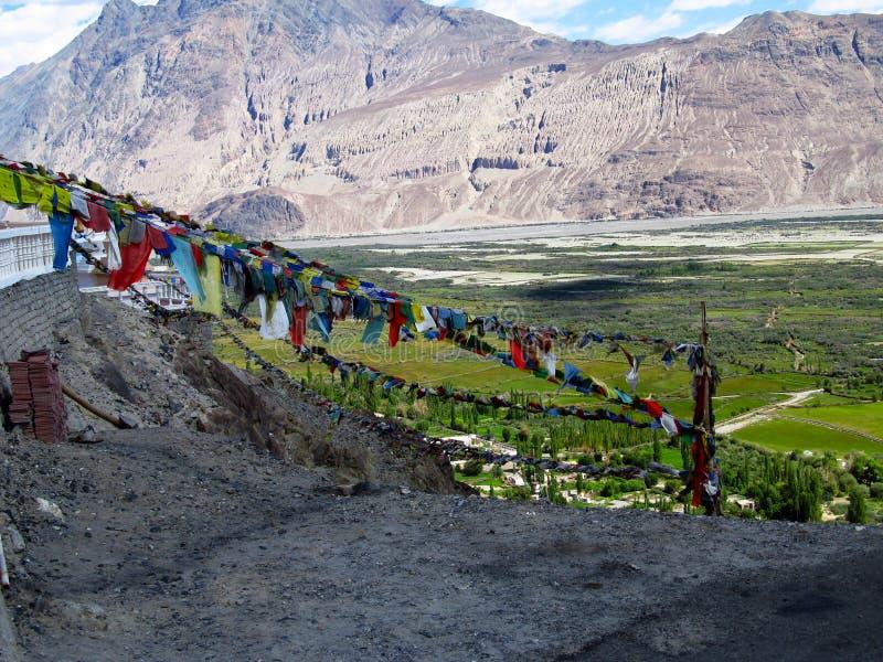 Boeddhistisch Klooster stock fotografie