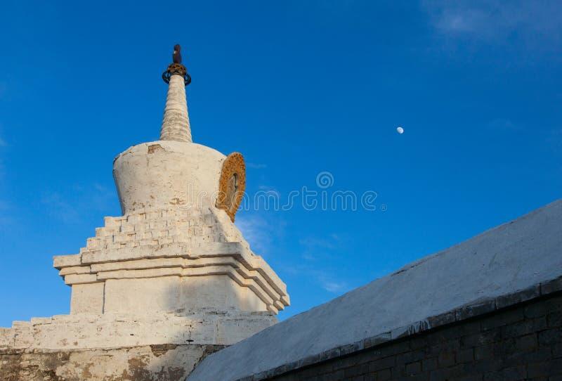 Boeddhistisch klooster Erdene Zu stock foto's