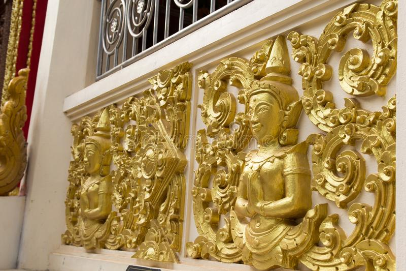 Boeddhistisch standbeeld royalty-vrije stock afbeelding