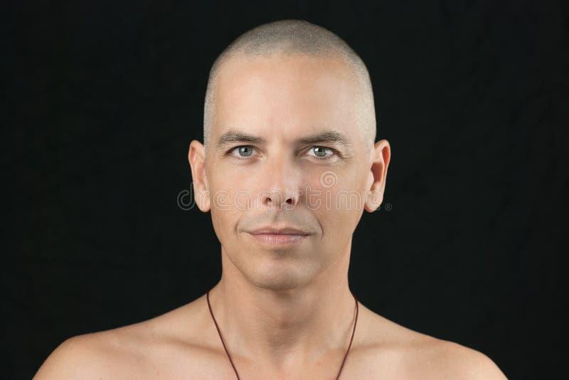 Boeddhistische Blikken aan Camera royalty-vrije stock foto