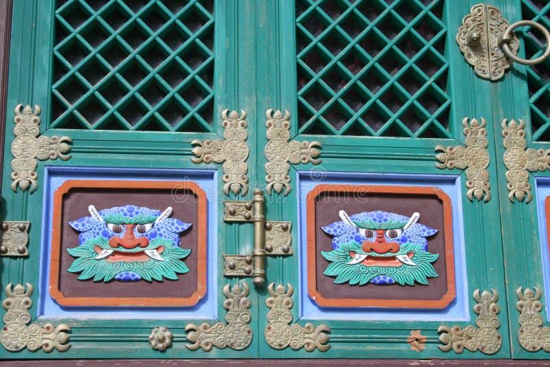 Boeddhistische deur royalty-vrije stock fotografie