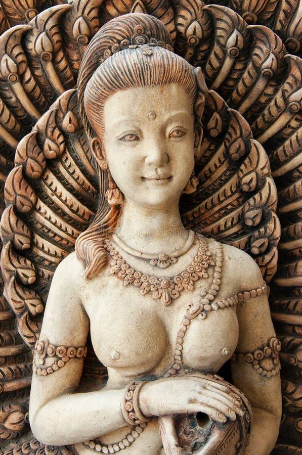 Boeddhistische gravure 01 stock afbeeldingen