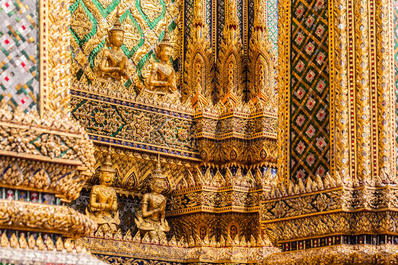 Boeddhistische ingewikkeldheid royalty-vrije stock afbeelding