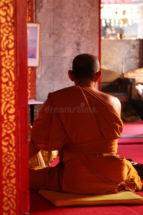 Boeddhistische Monnik royalty-vrije stock fotografie