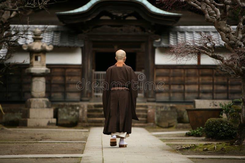 Boeddhistische Monnik royalty-vrije stock afbeeldingen