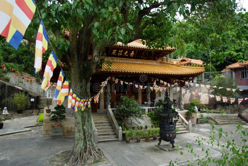 Boeddhistische Nanputuo-tempel in Xiamen, China royalty-vrije stock afbeeldingen
