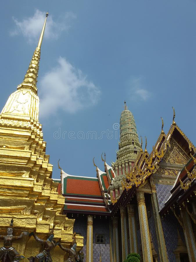 Boeddhistische pagode royalty-vrije stock fotografie