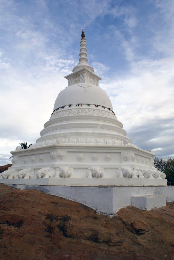 Boeddhistische stupa royalty-vrije stock afbeeldingen