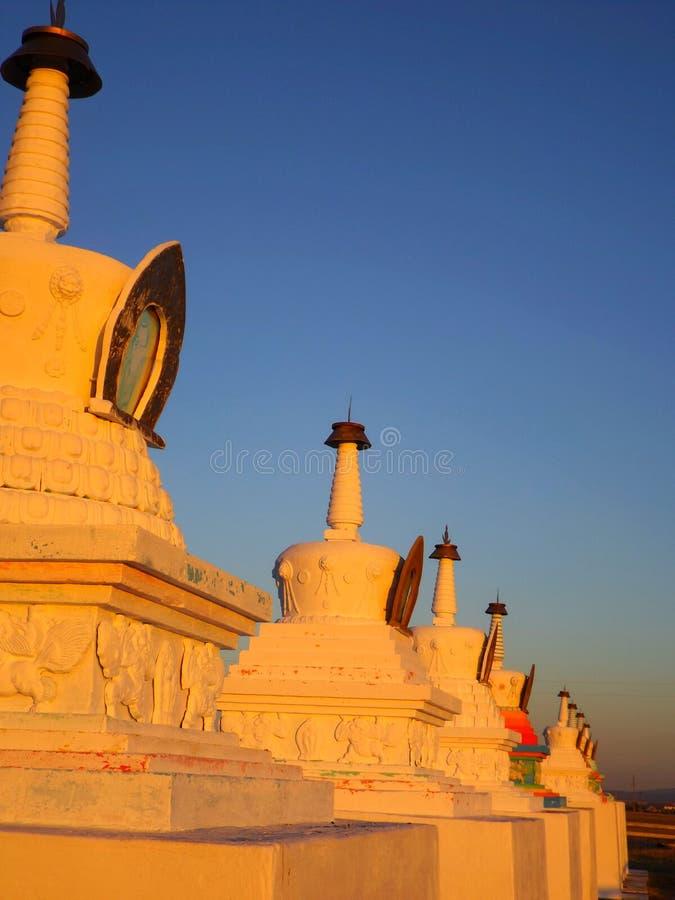 Boeddhistische Stupa stock fotografie