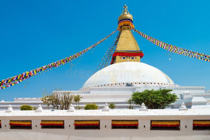 Boeddhistische stupa grootste unieke structurenstupas in de Gevestigde wereld royalty-vrije stock foto