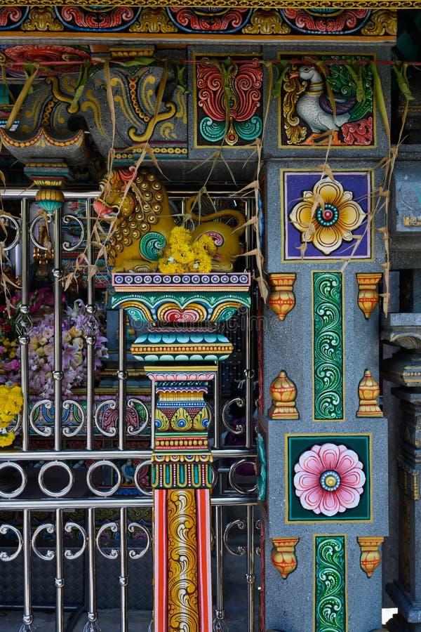 Boeddhistische Tempel in Bangkok, Thailand stock afbeelding