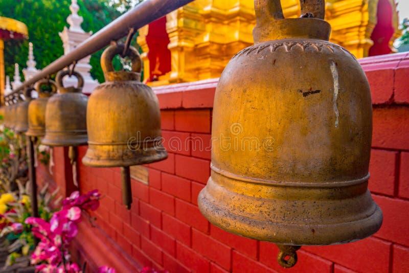 Boeddhistische tempel Chiang Mai, Thailand royalty-vrije stock foto's