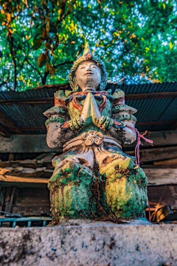Boeddhistische tempel Chiang Mai, Thailand royalty-vrije stock afbeelding