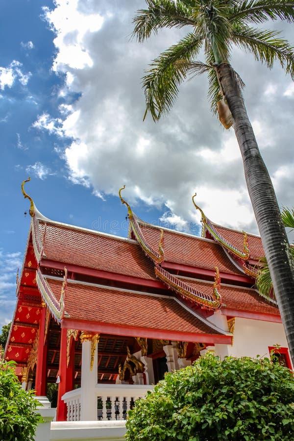 Boeddhistische tempel Thailand royalty-vrije stock foto