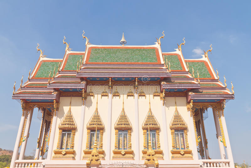 Boeddhistische tempelkerk stock fotografie