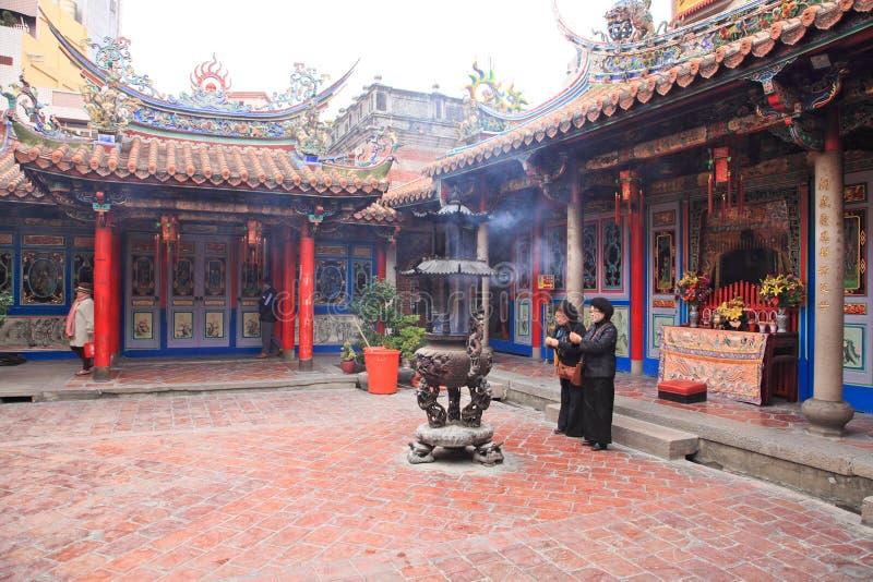 Boeddhistische Temple.Taiwan stock foto's