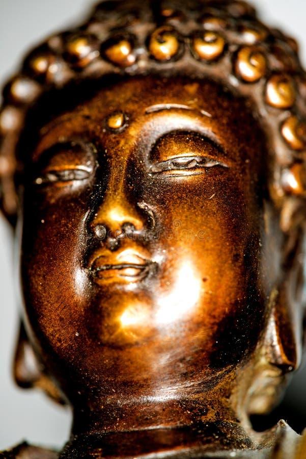 Boedha in diepe meditatie royalty-vrije stock afbeelding