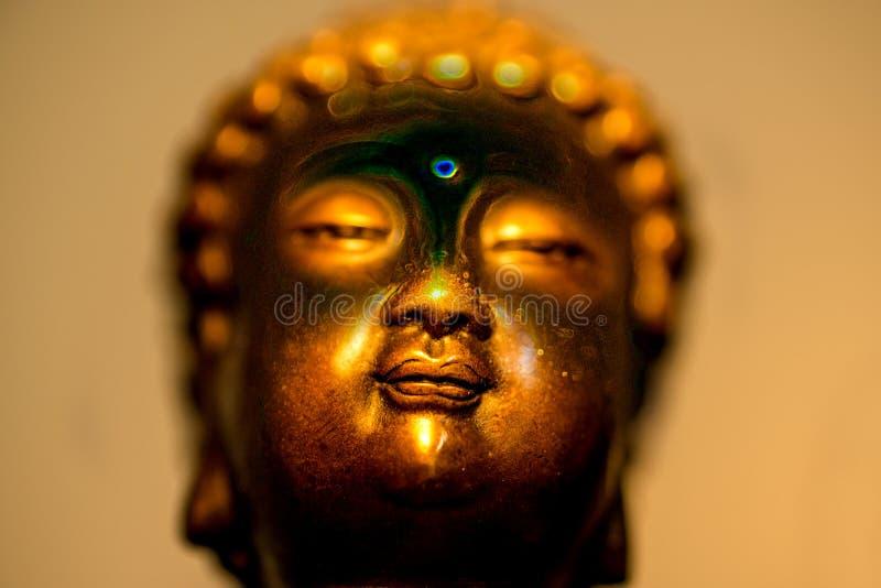 Boedha in diepe meditatie royalty-vrije stock foto