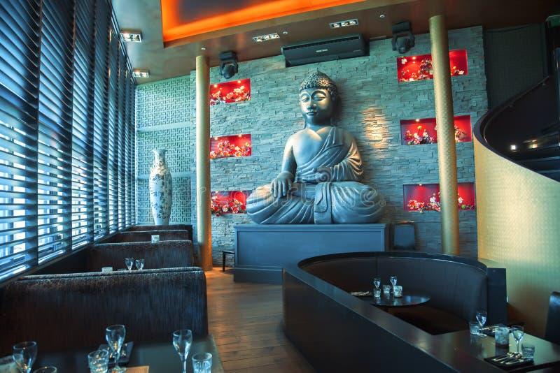 Download Boedha in restaurant stock foto. Afbeelding bestaande uit openbaar - 29500552