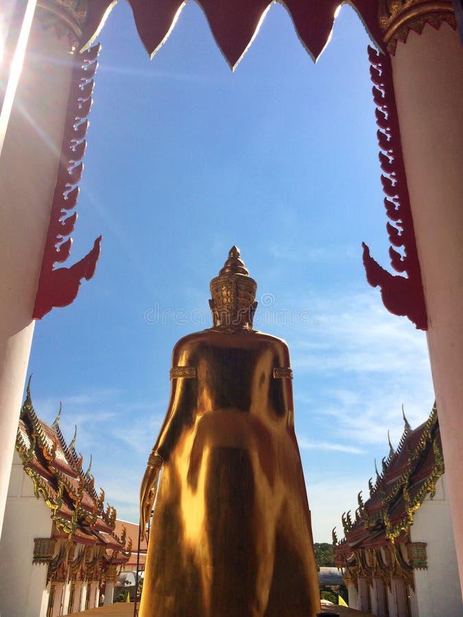 Boedha van Boeddhistische toewijding royalty-vrije stock foto