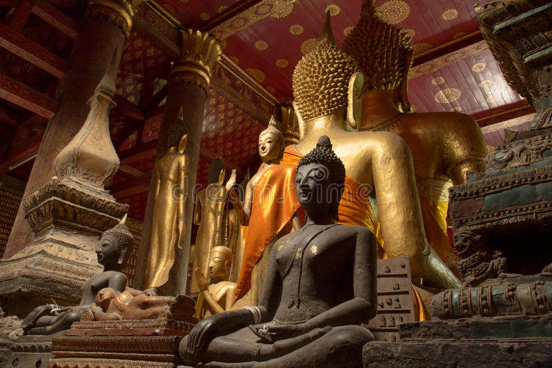 Boedha van Noord-Laos stock afbeelding