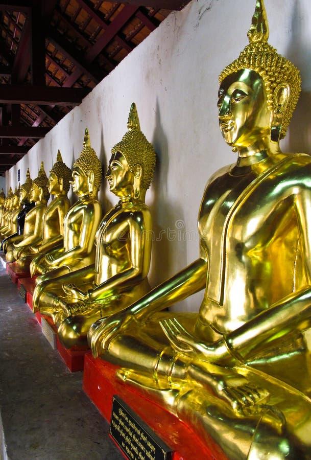 Boedha van Thailand royalty-vrije stock afbeeldingen