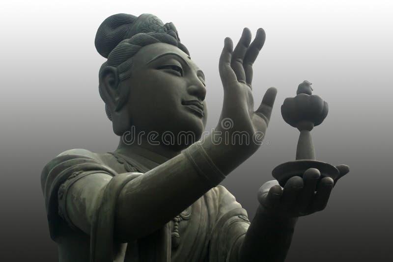 Boedha worshiper stock afbeeldingen