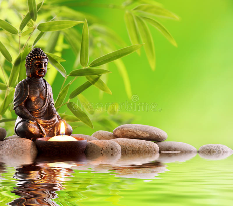 Boedha Zen royalty-vrije stock fotografie