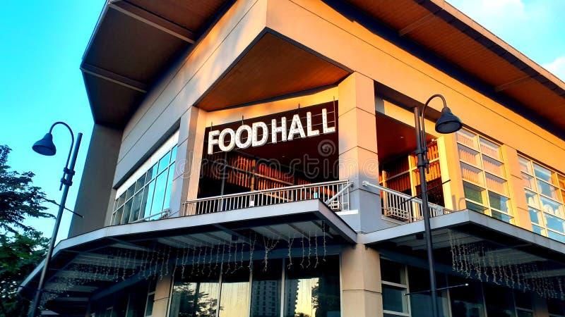 Boedhal in een modern gebouw Locatie: Estancia, Capitol Commons Pasig Filipijnen stock fotografie