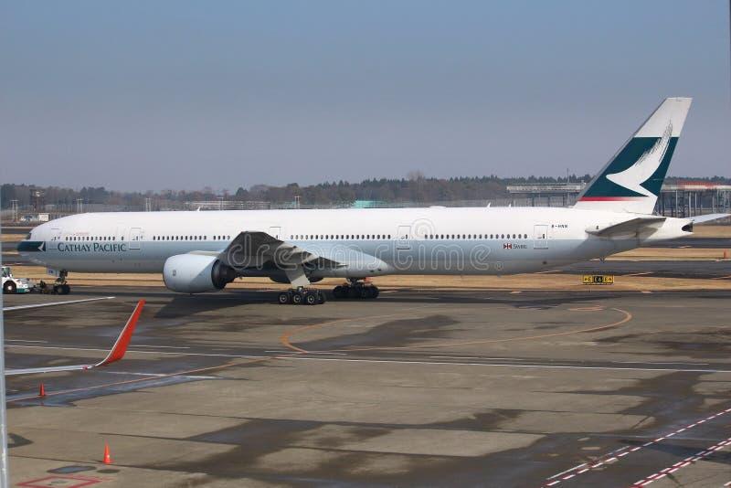 300 777 Boeing στοκ φωτογραφία με δικαίωμα ελεύθερης χρήσης