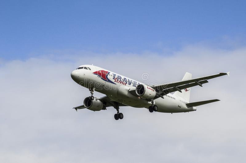 Boeing 737-800 imagens de stock