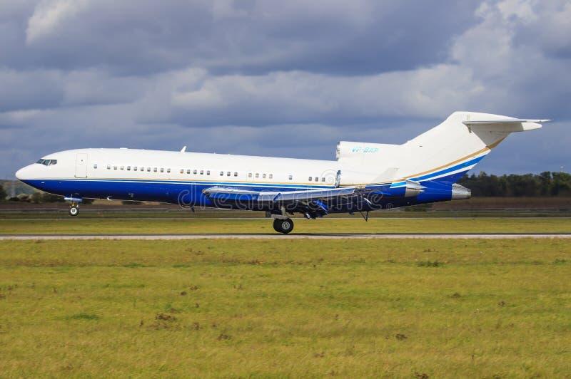 Boeing 727 royalty-vrije stock afbeeldingen