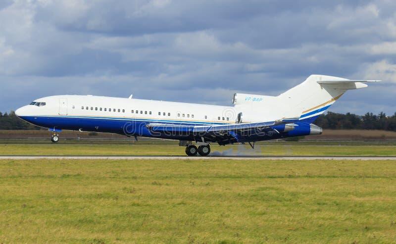 Boeing 727 photo libre de droits