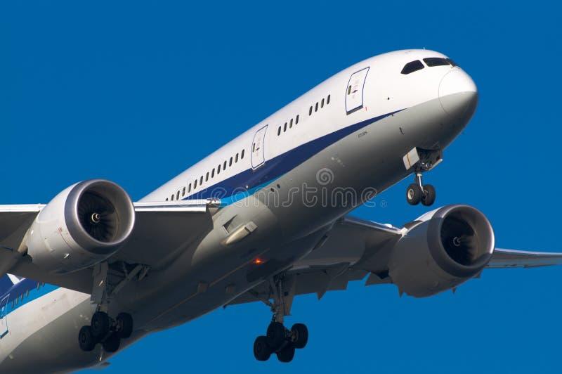 Boeing 787 zdjęcie royalty free