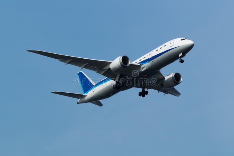 Boeing 787-8 στοκ εικόνα