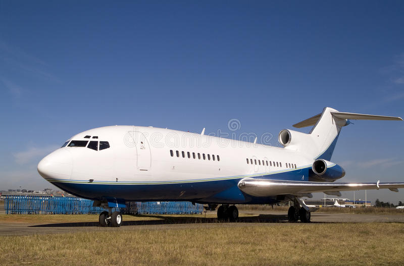 Boeing 727 stock foto