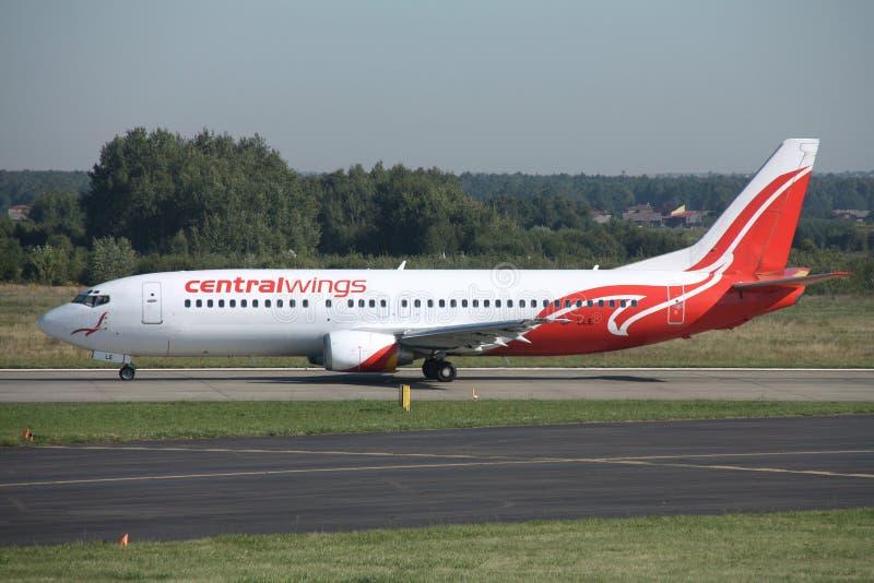 Boeing 737 royalty free stock photo