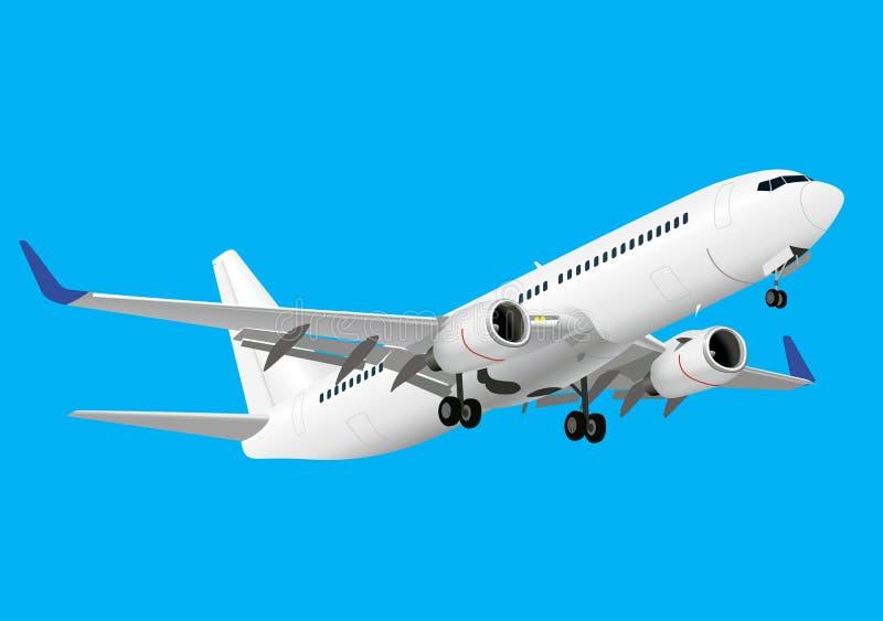 Boeing 737 illustration de vecteur